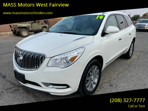 2014 Buick Enclave for sale at M.A.S.S. Motors - West Fairview in Boise ID