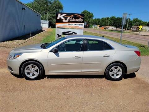 2013 Chevrolet Malibu for sale at KJ Automotive in Worthing SD