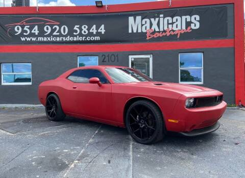 2014 Dodge Challenger for sale at Maxicars Auto Sales in West Park FL