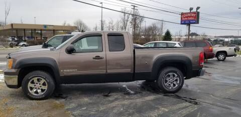 2008 GMC Sierra 1500 for sale at Country Auto Sales in Boardman OH