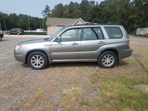 2007 Subaru Forester for sale at MIKE B CARS LTD in Hammonton NJ