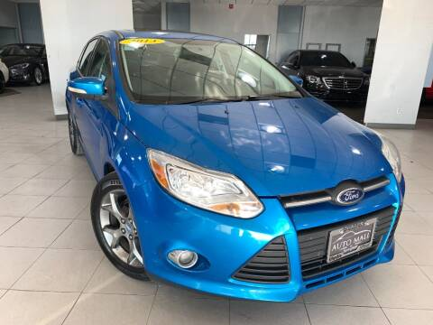 2013 Ford Focus for sale at Auto Mall of Springfield north in Springfield IL