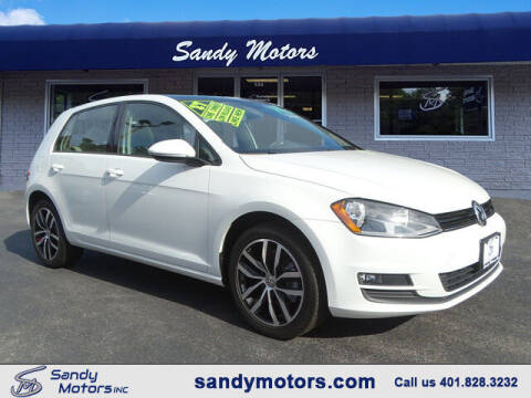 2017 Volkswagen Golf for sale at Sandy Motors Inc in Coventry RI