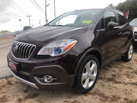 2015 Buick Encore for sale at The Car Guys in Hyannis MA