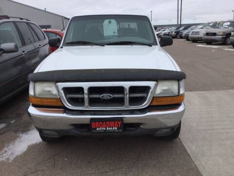 2000 Ford Ranger for sale at Broadway Auto Sales in South Sioux City NE