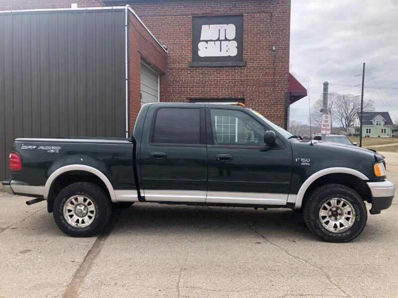 2001 Ford F-150 for sale at LeDioyt Auto in Berlin WI