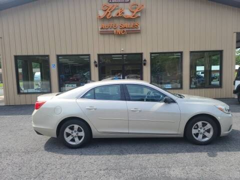 2014 Chevrolet Malibu for sale at K & L AUTO SALES, INC in Mill Hall PA