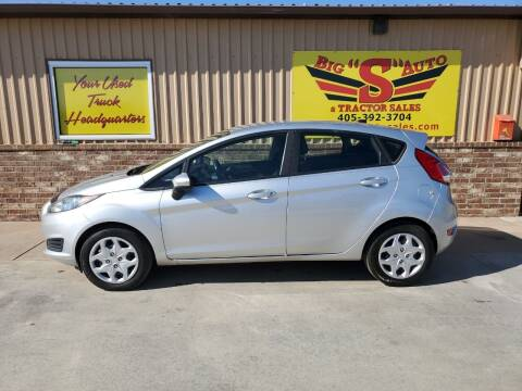 2016 Ford Fiesta for sale at BIG 'S' AUTO & TRACTOR SALES in Blanchard OK