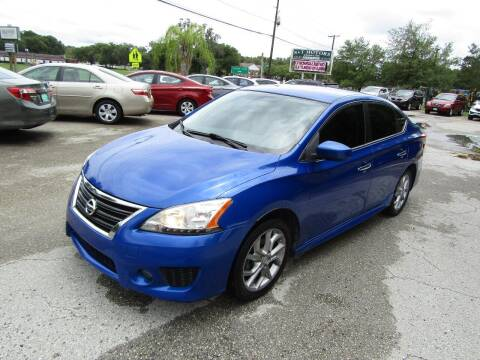 2013 Nissan Sentra for sale at S & T Motors in Hernando FL