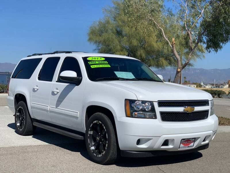 2013 Chevrolet Suburban for sale at Esquivel Auto Depot in Rialto CA