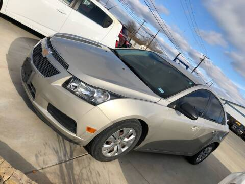 2013 Chevrolet Cruze for sale at Texas Auto Broker in Killeen TX