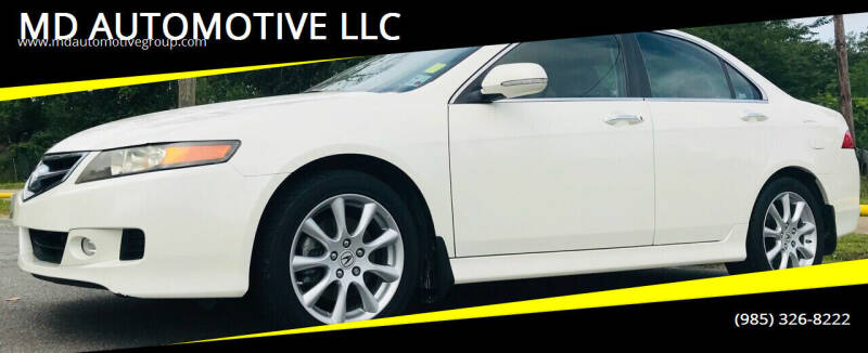 2008 Acura TSX for sale at MD AUTOMOTIVE LLC in Slidell LA