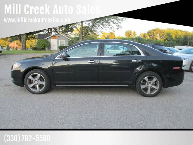 2012 Chevrolet Malibu for sale at Mill Creek Auto Sales in Youngstown OH