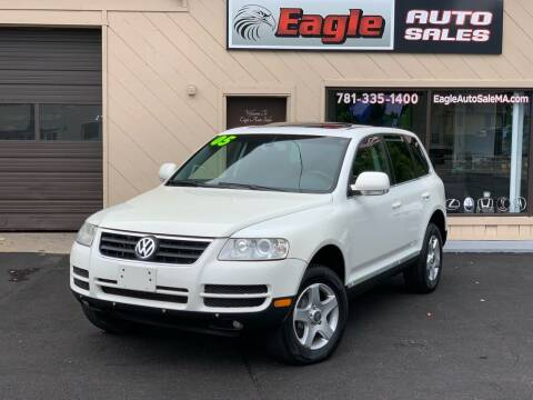 2005 Volkswagen Touareg for sale at Eagle Auto Sales LLC in Holbrook MA