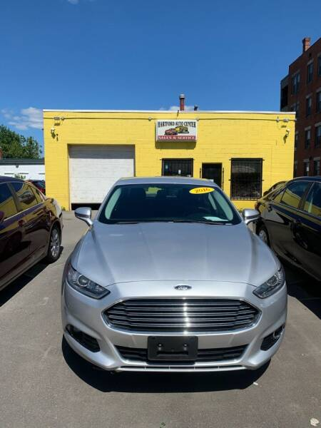2016 Ford Fusion for sale at Hartford Auto Center in Hartford CT