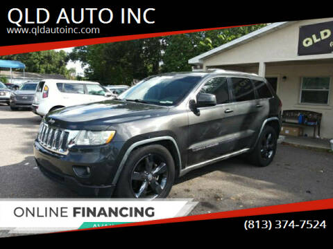 2011 Jeep Grand Cherokee for sale at QLD AUTO INC in Tampa FL