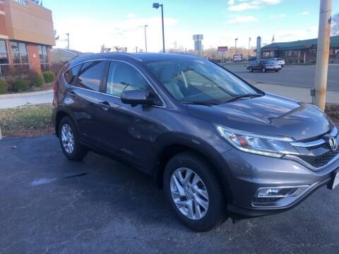 2016 Honda CR-V for sale at Tonys Car Sales in Richmond IN