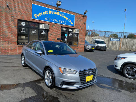 2015 Audi A3 for sale at Everett Auto Gallery in Everett MA