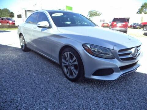 2018 Mercedes-Benz C-Class for sale at PICAYUNE AUTO SALES in Picayune MS