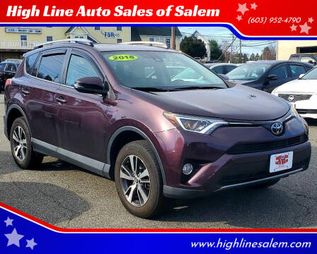 2018 Toyota RAV4 for sale at High Line Auto Sales of Salem in Salem NH