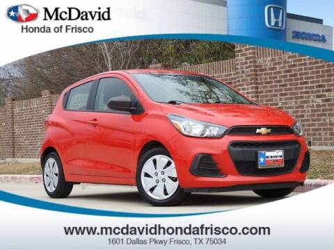 2018 Chevrolet Spark for sale at DAVID McDAVID HONDA OF IRVING in Irving TX