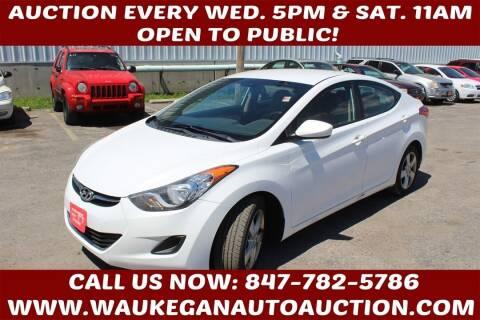 2011 Hyundai Elantra for sale at Waukegan Auto Auction in Waukegan IL