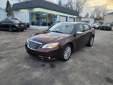 2013 Chrysler 200 for sale at MOE MOTORS LLC in South Milwaukee WI