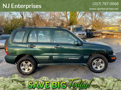 2004 Chevrolet Tracker for sale at NJ Enterprises in Indianapolis IN