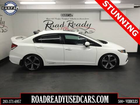 2014 Honda Civic for sale at Road Ready Used Cars in Ansonia CT