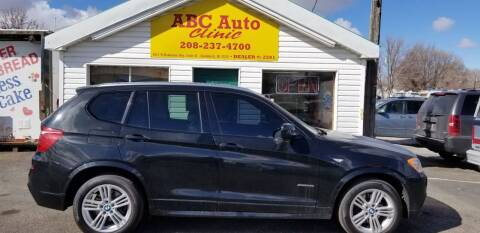2011 BMW X3 for sale at ABC AUTO CLINIC in American Falls ID
