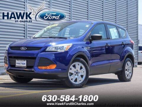 2016 Ford Escape for sale at Hawk Ford of St. Charles in St Charles IL