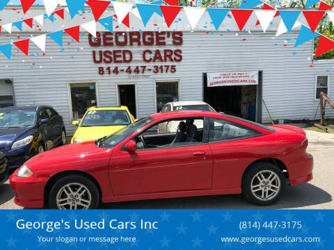 2003 Chevrolet Cavalier for sale at George's Used Cars Inc in Orbisonia PA