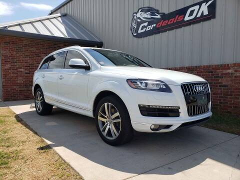 2015 Audi Q7 for sale at Car Deals OK in Oklahoma City OK