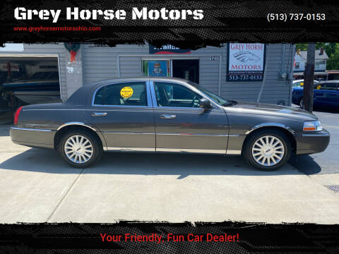 2003 Lincoln Town Car for sale at Grey Horse Motors in Hamilton OH