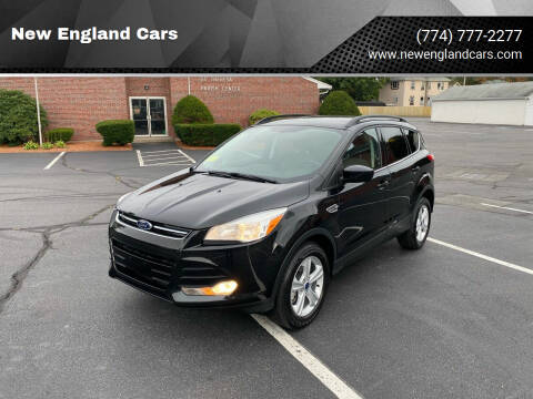 2014 Ford Escape for sale at New England Cars in Attleboro MA