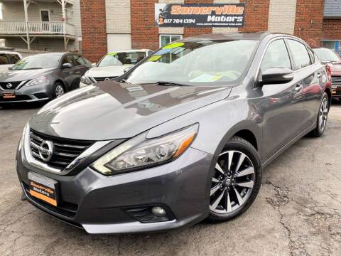 2017 Nissan Altima for sale at Somerville Motors in Somerville MA