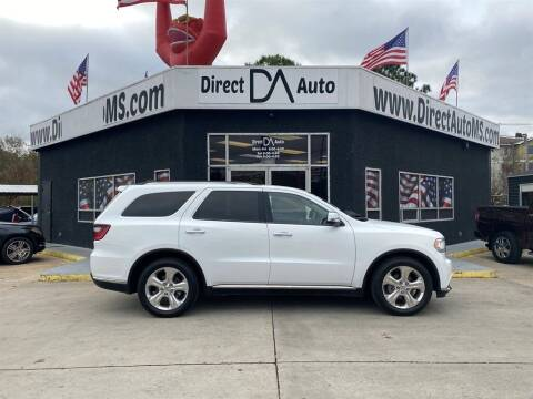 2015 Dodge Durango for sale at Direct Auto in D'Iberville MS
