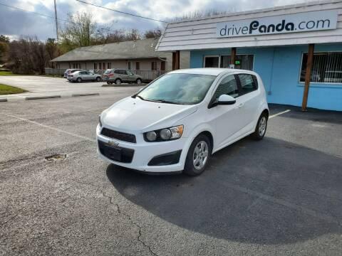 2012 Chevrolet Sonic for sale at DrivePanda.com Joliet in Joliet IL