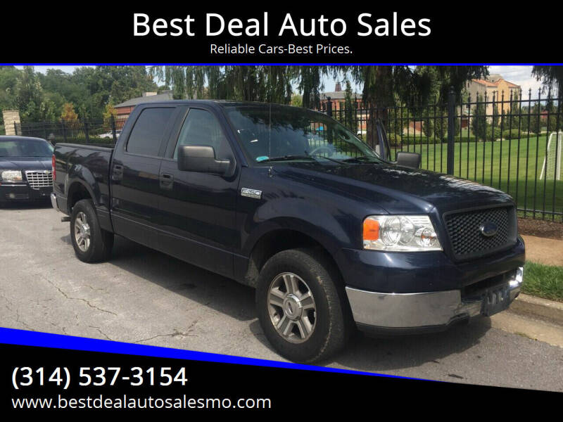 2005 Ford F-150 for sale at Best Deal Auto Sales in Saint Charles MO