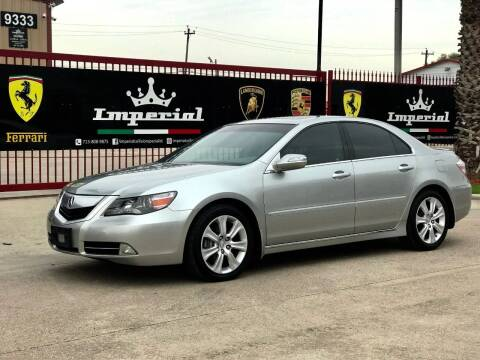 2010 Acura RL for sale at Texas Auto Corporation in Houston TX