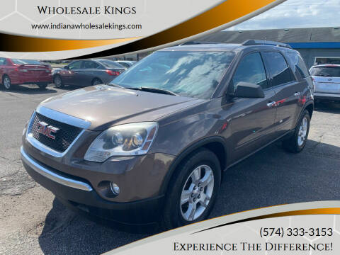 2010 GMC Acadia for sale at Wholesale Kings in Elkhart IN