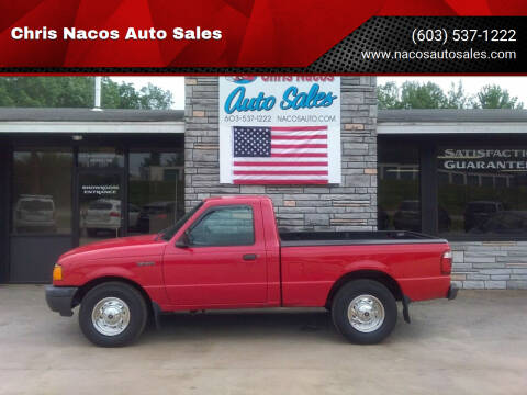 2002 Ford Ranger for sale at Chris Nacos Auto Sales in Derry NH