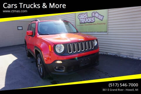 2016 Jeep Renegade for sale at Cars Trucks & More in Howell MI