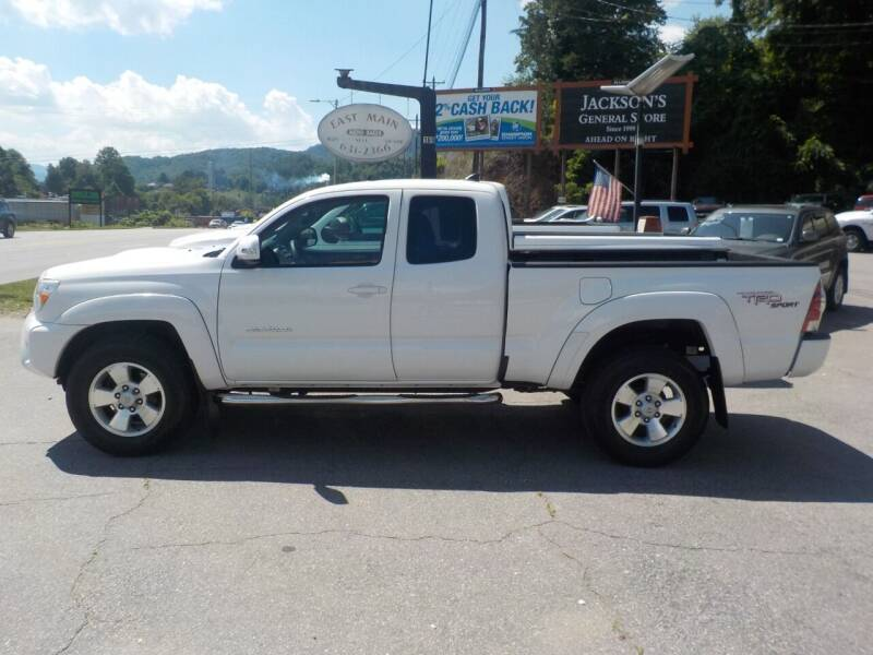 2012 Toyota Tacoma for sale at EAST MAIN AUTO SALES in Sylva NC
