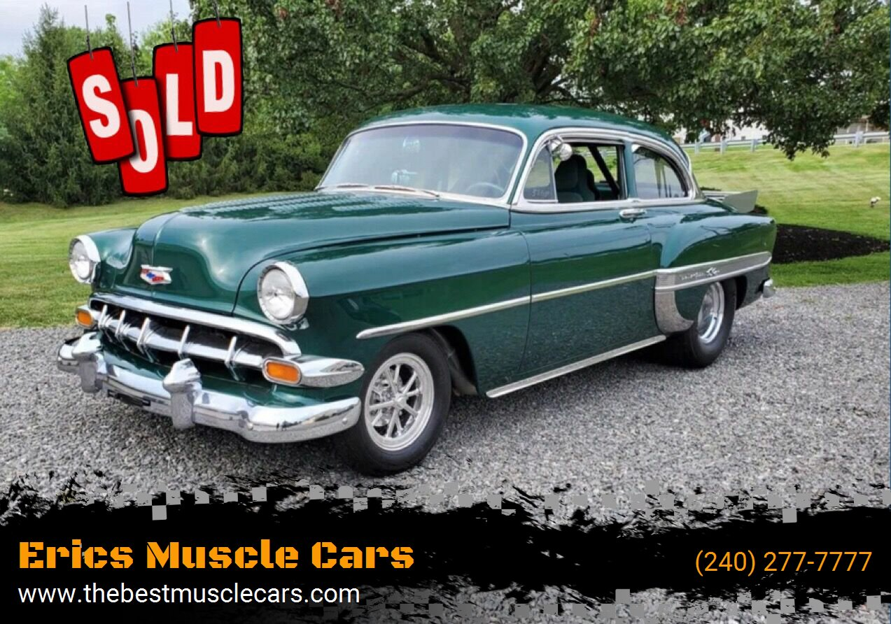 1954 Chevrolet PRO STREET  SOLD SOLD SOLD