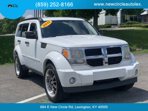 2011 Dodge Nitro for sale at New Circle Auto Sales LLC in Lexington KY