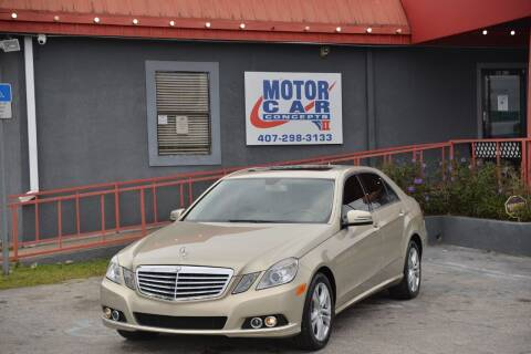 2010 Mercedes-Benz E-Class for sale at Motor Car Concepts II - Kirkman Location in Orlando FL