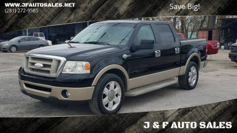 2007 Ford F-150 for sale at J & F AUTO SALES in Houston TX