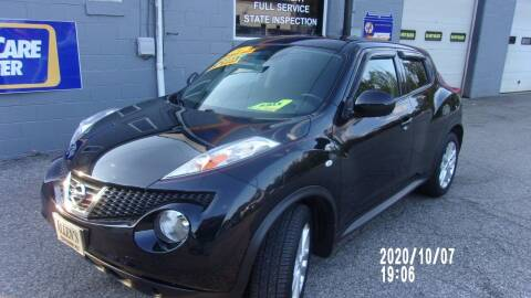 2014 Nissan JUKE for sale at Allen's Pre-Owned Autos in Pennsboro WV