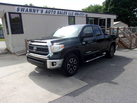 2015 Toyota Tundra for sale at Swanny's Auto Sales in Newton NC
